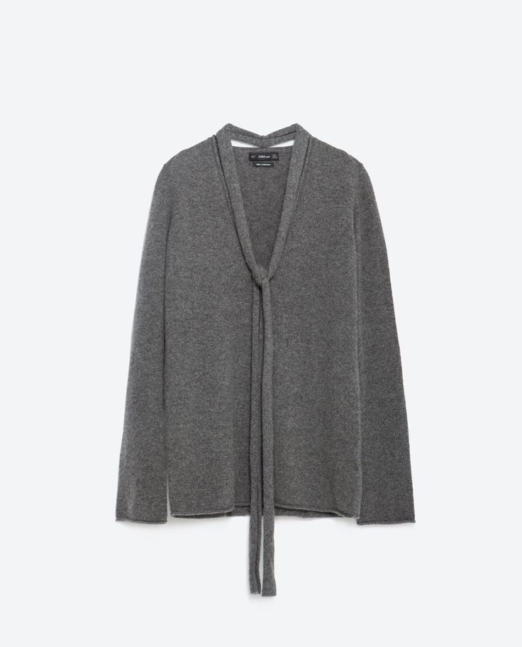 Cashmere sweater.