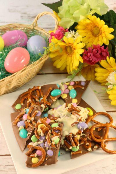 Easter Candy Bark Easy DessertsEaster RecipesEaster
