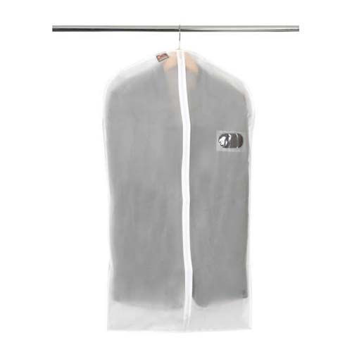 Caraselle Suit Cover *   Strong and robust dress cover *   Moth resistant and protects from dust *   Frosted coating with transparent contents window *   Biodegradable material  http://www.caraselledirect.com/_/1_peva_zip_up_suit_cover.85-1  #dresscover #protectyourclothing