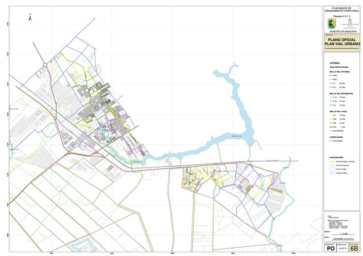 imagen de mapa de PLANO OFICIAL PLAN VIAL URBANO