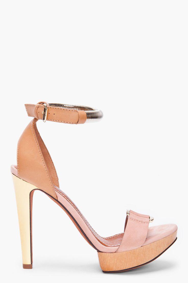 LANVIN Nude heels