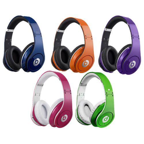 Beats By Dre Studio High Definition Noise Canceling Over Ear Monster Headphones