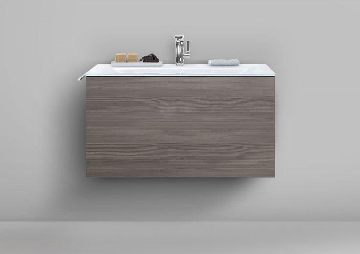 Badmöbel grifflos 90 cm Glaswaschtisch mit Unterschrank, Waschtisch Set Jetzt bestellen unter: https://moebel.ladendirekt.de/bad/badmoebel/badmoebel-sets/?uid=f0bcef3f-0732-59c0-abbe-88641eedf95a&utm_source=pinterest&utm_medium=pin&utm_campaign=boards #bad #badmoebel #badmoebelsets #badmöbelsets