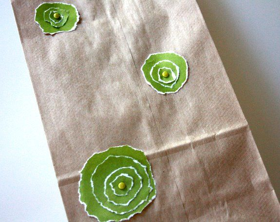 Homemade gift bag that is simple.