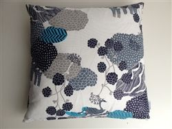 Urd's Well Turquoise Cushion