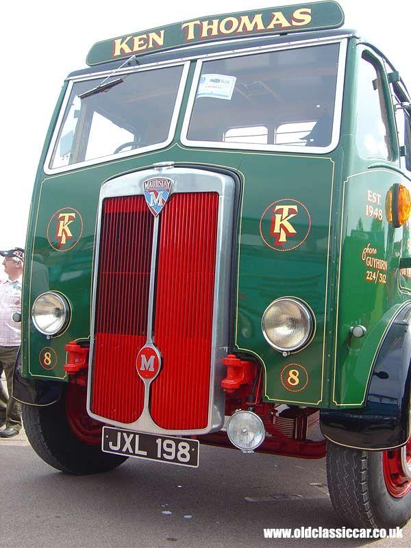20 best Tx Trucks Maudslay ( England ) ( 1902 - 1948 ) images on ...