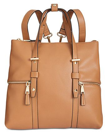 Image 1 of I.N.C. Haili Extra-Large Convertible Backpack 7e38969c1f8c9