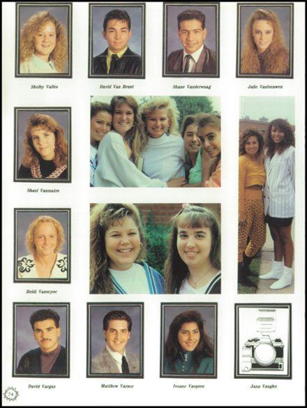 1990 Chino High School Yearbook via Classmates.com