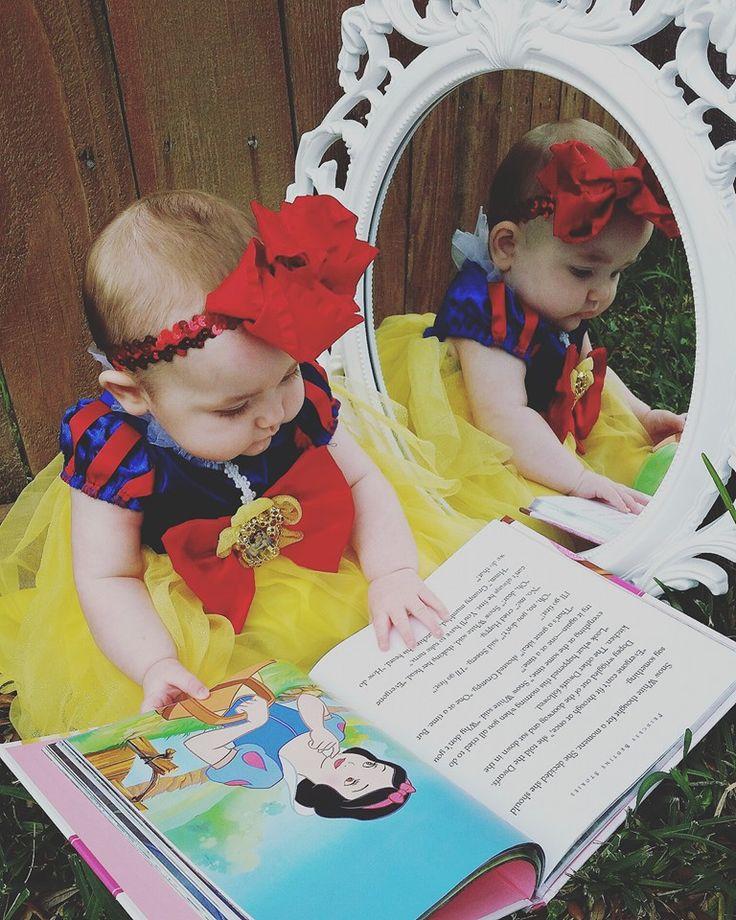 Disney Snow White Baby photoshoot