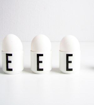 Arne Jacobsen Eggeglass (2 stk)