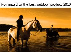 Nominated for Best Outdoor Product of the Year 2010 at the Wilderness Fair in Stockholm, the largest of its kind in Scandinavia, with over 60,000 visitors per year.