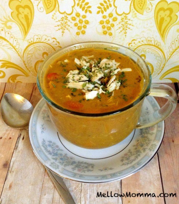 Pumpkin Curry Soup from Mellow Mama http://www.mellowmomma.com/