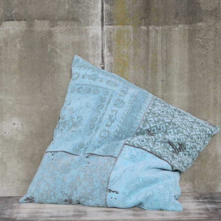 Pillow Patchwork - Turquoise 100 x 100cm