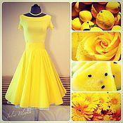 """Одежда ручной работы. Ярмарка Мастеров - ручная работа Юбка """"Желтое солнце"""". Handmade."""