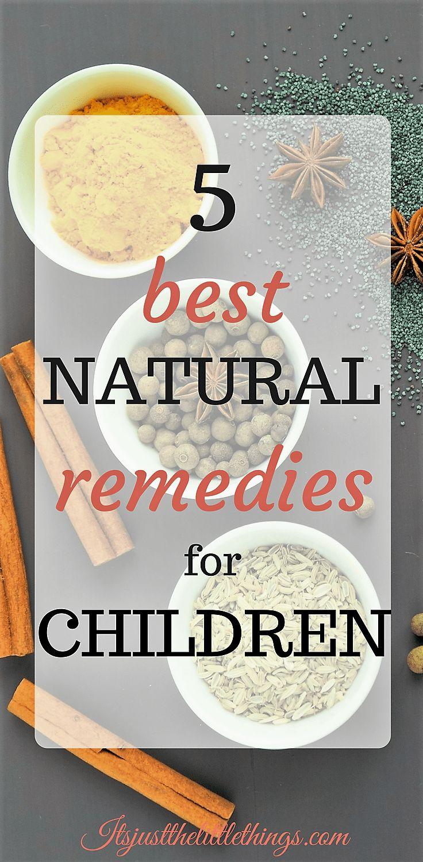 5 best natural remedies for children