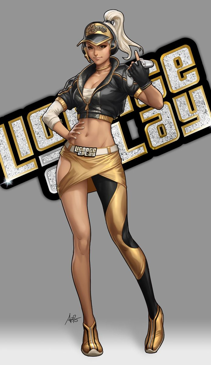 Licence2play Gamecon Mascot by Artgerm on deviantART