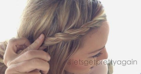 Let's Get Pretty Again: French Twist Those Bangs!