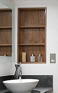 1000 ideas about recessed medicine cabinet on pinterest - Built in medicine cabinets in bathroom ...