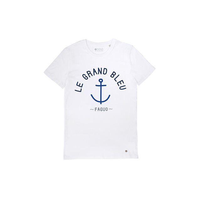 Tshirt coton bio Le Grand Bleu FAGUO