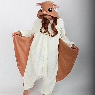 Kigurumi Pijamas Esquilo / Mouse Malha Collant/Pijama Macacão Festival/Celebração Pijamas Animal Branco Miscelânea Lã Polar Kigurumi Para de 2421750 2016 por €168.97