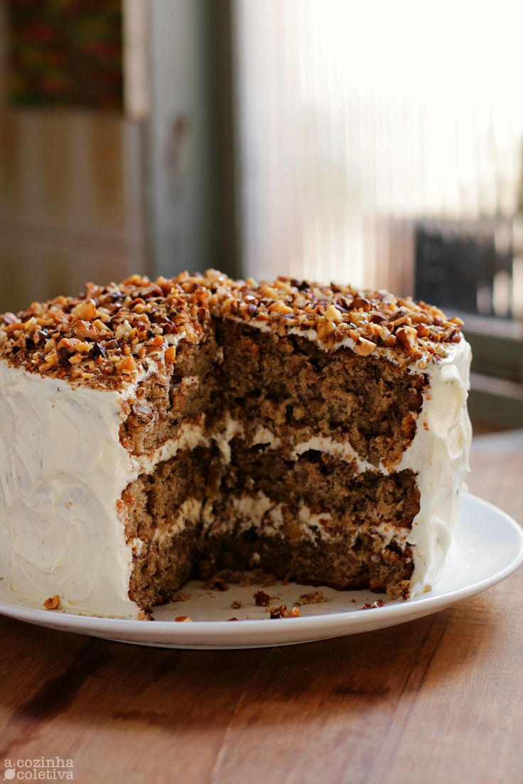 Olás, tudo bem?   Vocês se lembram da minha listinha de bolos típicos americanos? Pois então, é claro que testar todas as receitas...