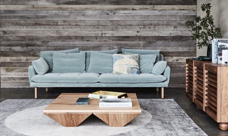 Jardan - Cove coffee table, Finch side table, Andy sofa and Spot rug