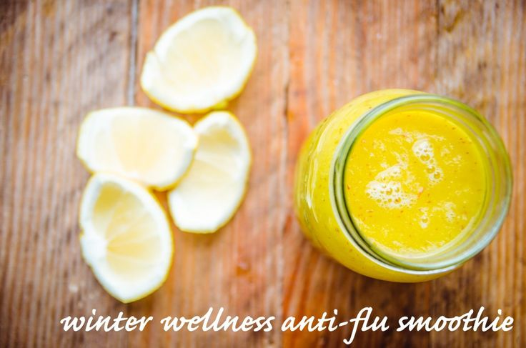 A Sunshine Winter Wellness Anti-Flu Drink + 5 ways to Stay Cold Free - GoodnessGreen