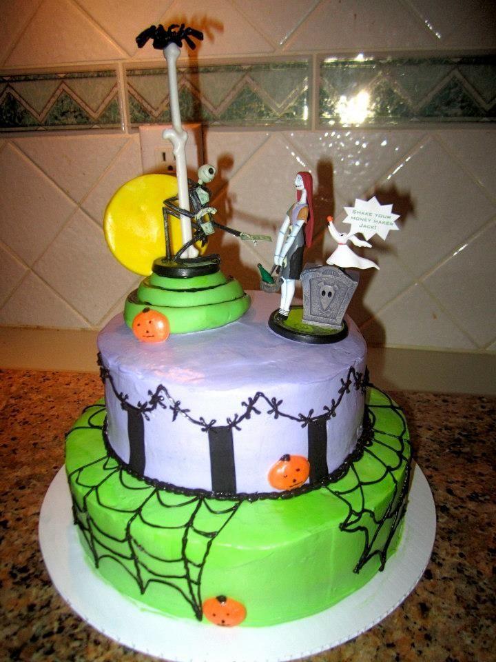 Jack The Pumpkin King Birthday Cake