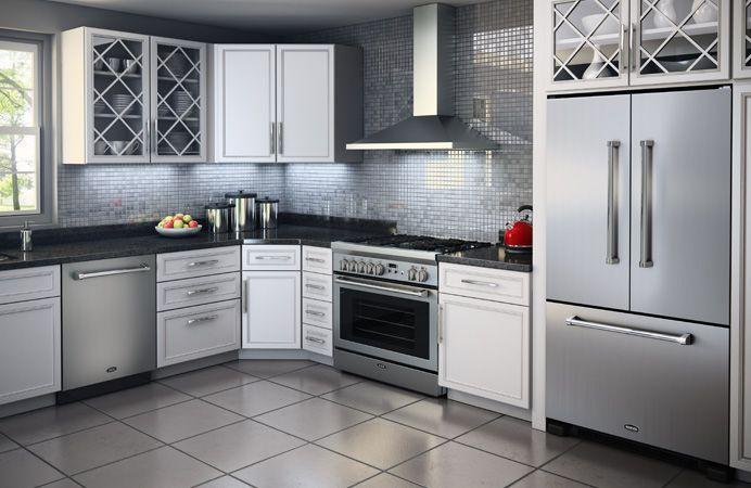 Aga Marvel Professional Series Suite Range French Door Refrigerator Dishwasher Stainless