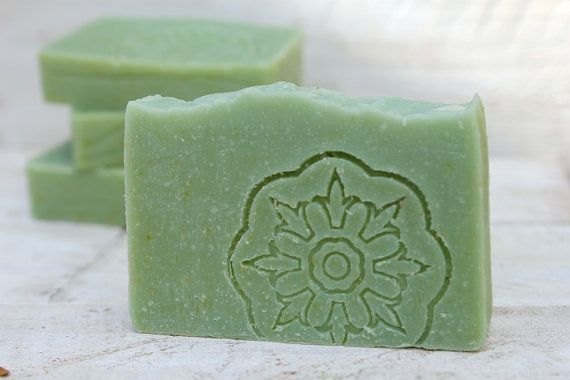 Lime, Mandarin and Patchouli, one of our favourite soaps in the shower.  Refreshingly good...