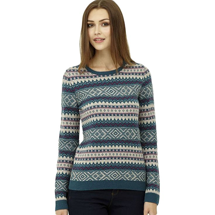 Visit Gifts & Collectables for a great range of Ness Clothing including the Holly Fairisle Bottle Teal Jumper - Same day despatch before 3.30pm & fast UK delivery