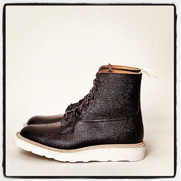 Derby Scotch Grain Trickers... I need you in my life! #shoes #fashion #menswear #trickers #wedge #style #footwear #boots