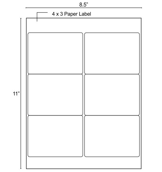 57 best images about ospac blank paper labels on pinterest for Half sheet label paper