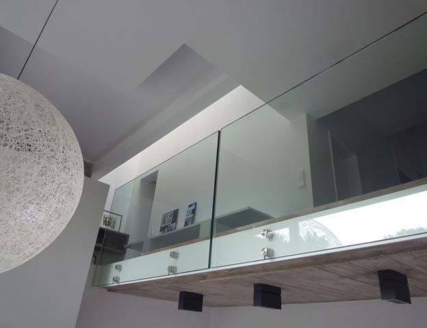 Mezzanine avec garde corps en verre escalier pinterest garde corps en v - Garde corps en verre pour mezzanine ...