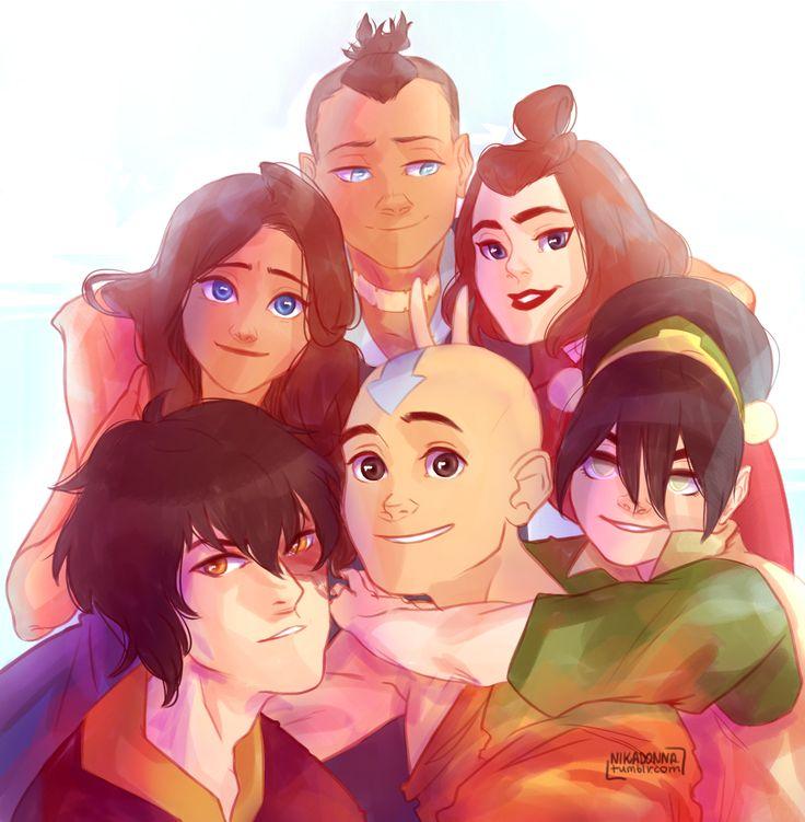 Team Avatar: Avatar: The Last Airbender & The Legend Of