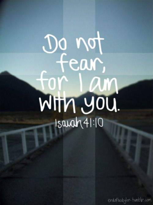 Isaiah 41:10~The God of angel armies is always with us! We ...