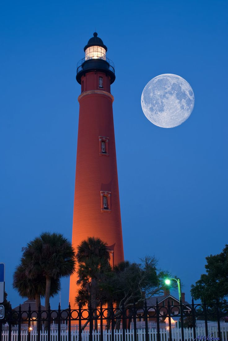 Ponce de Leon Lighthouse. ~ Ponce Inlet, Florida