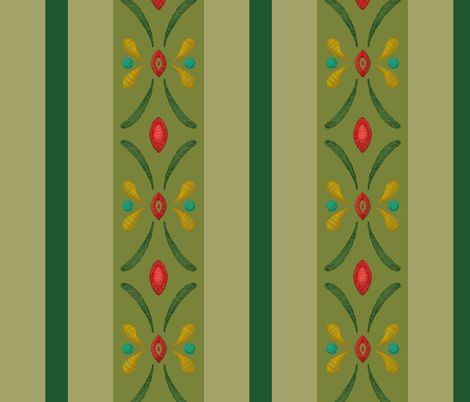 Frozen Anna Green - aimee - Spoonflower - Green Skirt. larger pattern so no pleating needed. $18.00 per yard of kona cotton