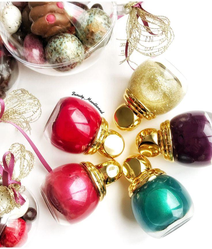 Dior Precious Rocks Noël Holiday 2017 Diorific Les Vernis ! Hello les Beautystas !  Ça y est !!! On est en décembre !!! Le compte à rebours a commencé avec les calendriers de l'Avent et la magie de Noël s'installe un peu partout...