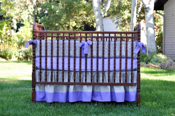 DIY baby bedding