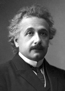 Albert Einstein--Nobel-Prize winning physicist who developed the theory of relativity that revolutionized physics.