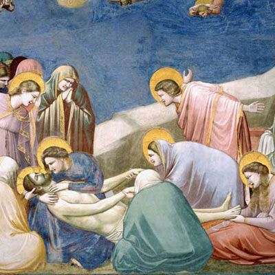 Giotto's frescos in Capella degli Scrovegni in Padua Italy. Reservations required and worth every second of the effort. Simply stunning that these have survived and been restored and protected as they are!