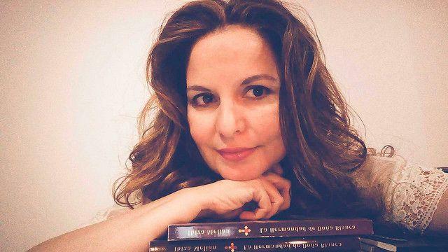 Entrevista a la escritora Ibiza Melián en un medio de comunicación de Perú.