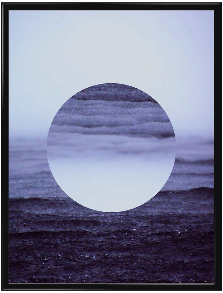 """En otroligt vacker poster som vi valt att kalla """"Droppe i havet"""". Med…"""