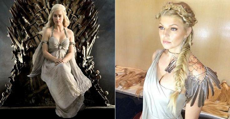 Fergie se transforma em Khaleesi de Game of Thrones