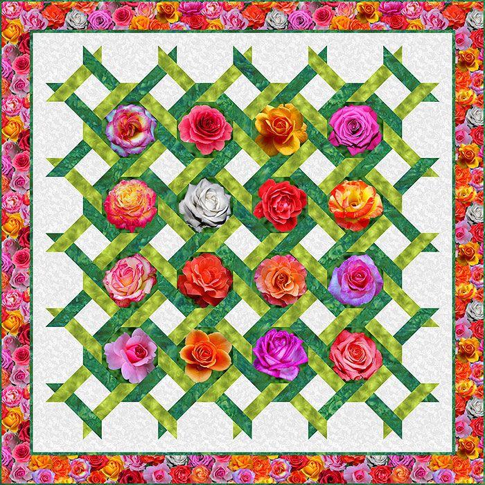 262 best equilter free pattern designer images on for Garden trellis designs quilt patterns