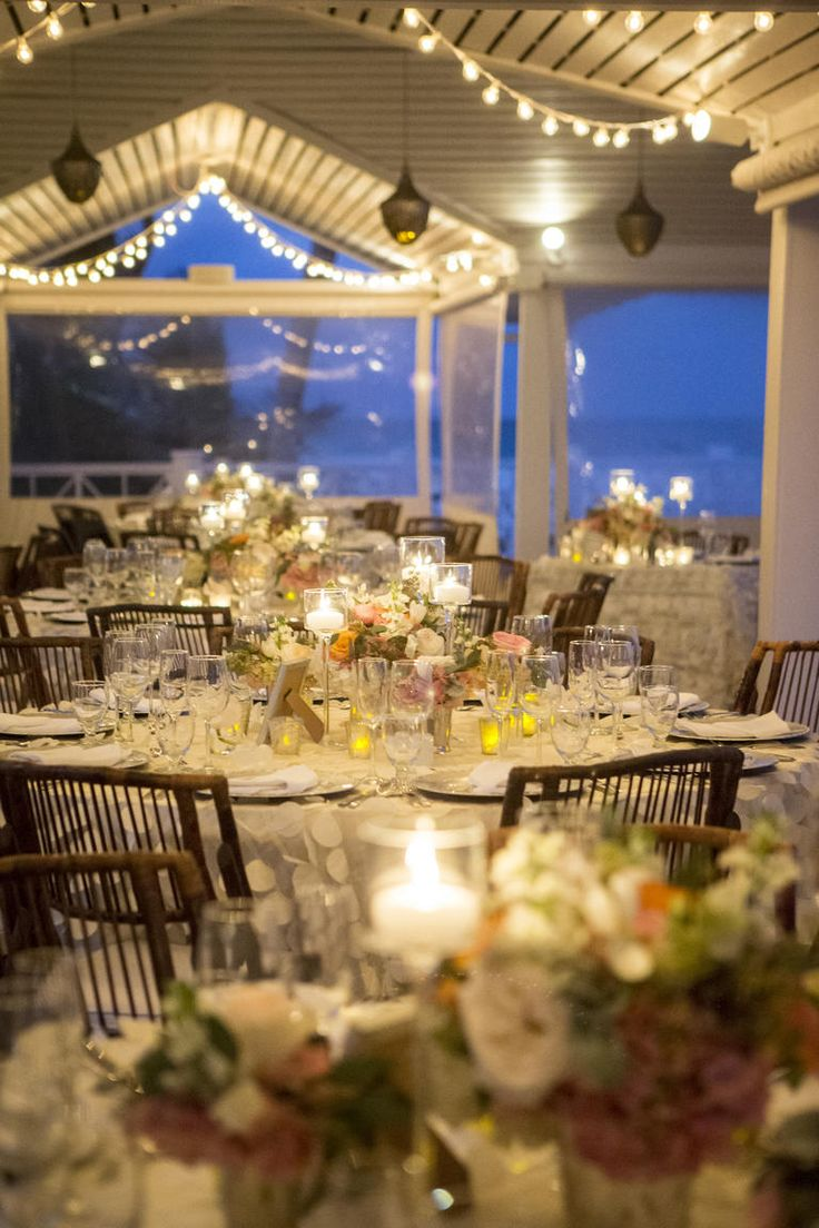 Beautiful Beach Destination Wedding Reception Venue