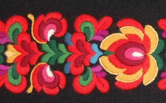 FolkCostume: Bunad and Rosemaling embroidery of upper Hallingdal, Buskerud, Norway