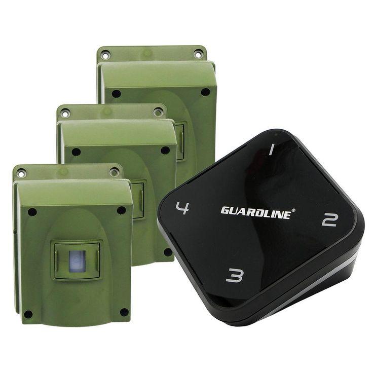 Guardline 1 4 Mile Long Range Wireless Driveway Alarm With