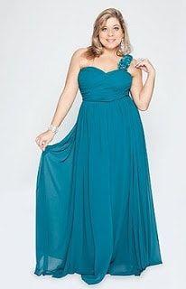 Vestido azul turquesa e preto
